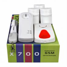 Охранная беспроводная GSM сигнализация Сибирский Арсенал X700