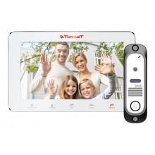 Комплект видеодомофона TR-29M W+DVC-414